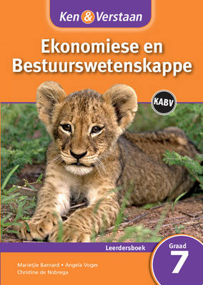 Study and Master Economic and Business Management Grade 7 for CAPS Learner's Book Afrikaans Edition by Marietjie Barnard, Angela Voges, Christine de Nobrega
