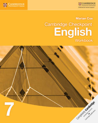 Cambridge Checkpoint English Workbook 7 by Marian Cox