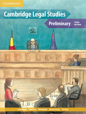 Cambridge Preliminary Legal Studies Pack by Paul Milgate, Daryl Le Cornu, Kate Dally, Phil Webster