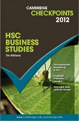 Cambridge Checkpoints HSC Business Studies 2012 by Tim Williams