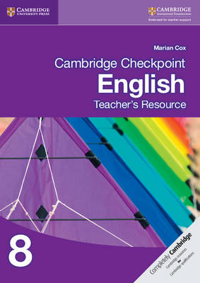 Cambridge Checkpoint English Teacher's Resource 8 by Marian Cox