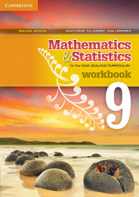 Mathematics and Statistics for the New Zealand Curriculum Year 9 Workbook by Anna Brookie, Anne Lawrence, Joye Halford, Robin Tiffen