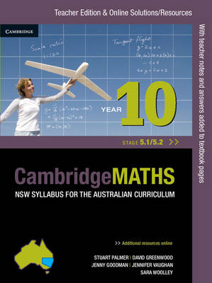 Cambridge Mathematics NSW Syllabus for the Australian Curriculum Year 10 5.1 and 5.2 by Jenny Goodman