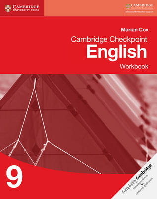 Cambridge Checkpoint English Workbook 9 by Marian Cox