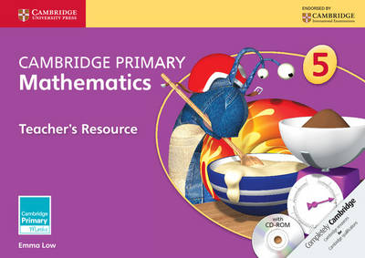 Cambridge Primary Mathematics Stage 5 Teacher's Resource with CD-ROM by Emma Low