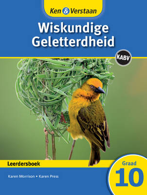 Study and Master Mathematical Literacy Grade 10 Caps Learner's Book Afrikaans Translation by Karen Morrison, Karen Press