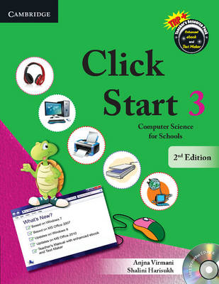 Click Start Level 3 Student's Book With CD-ROM Computer Science for Schools by Anjna Virmani, Shalini Harisukh