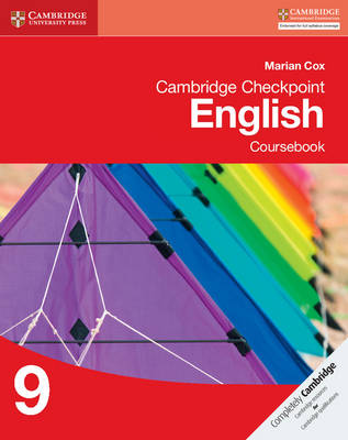 Cambridge Checkpoint English Coursebook 9 by Marian Cox
