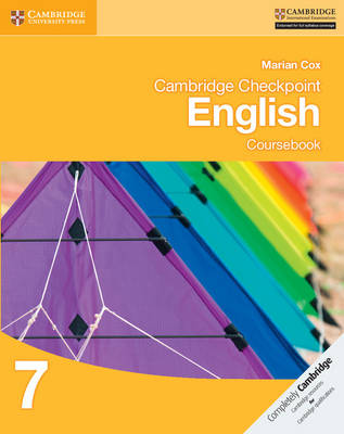 Cambridge Checkpoint English Coursebook 7 by Marian Cox