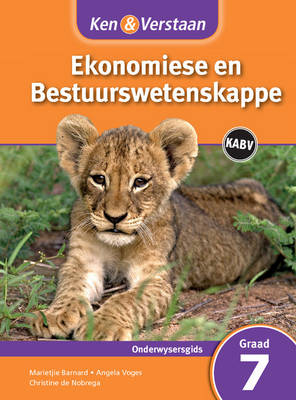 Study and Master Economic and Business Management Grade 7 for Caps Teacher's Guide Afrikaans Edition by Marietjie Barnard, Angela Voges, Christine de Nobrega
