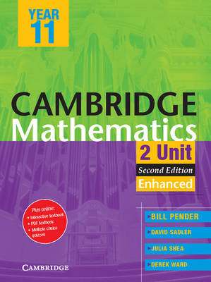 Cambridge 2 Unit Mathematics Year 11 Enhanced Version PDF Textbook by William Pender, David Saddler, Julia Shea, Derek Ward