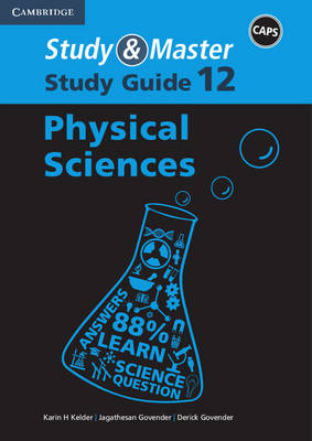 Study and Master Physical Sciences Grade 12 CAPS Study Guide by Karin H. Kelder, Jogathesan Govender, Derick Govender, Carla Repsold