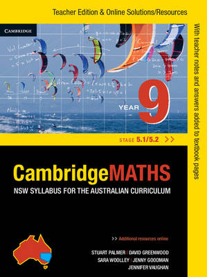 Cambridge Mathematics NSW Syllabus for the Australian Curriculum Year 9 5.1 and 5.2 by Jenny Goodman