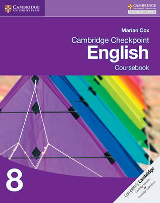Cambridge Checkpoint English Coursebook 8 by Marian Cox