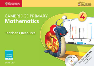 Cambridge Primary Mathematics Stage 4 Teacher's Resource with CD-ROM by Emma Low