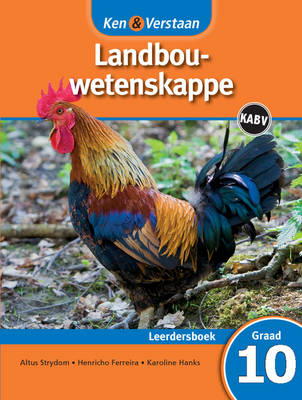 Study and Master Agricultural Sciences Grade 10 Caps Learner's Book Afrikaans Translation by Altus Strydom, Henricho Ferreira, Karoline Hanks