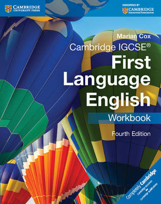 Cambridge IGCSE First Language English Workbook by Marian Cox