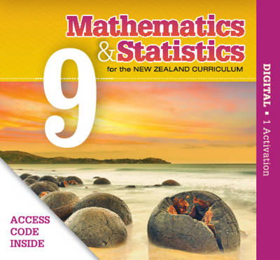 Mathematics and Statistics for the New Zealand Curriculum Year 9 by Anna Brookie, Joye Halford, Anne Lawrence, Robin Tiffen