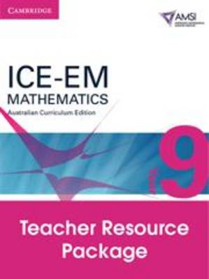 ICE-EM Mathematics Australian Curriculum Edition Year 9 Teacher Resource Package by Peter Brown, Michael Evans, Garth Gaudry, David Hunt