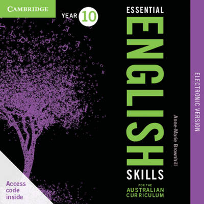 Essential English Skills for the Australian Curriculum Year 8 Electronic Version A Multi-level Approach by Anne-Marie Brownhill, Alison Rucco, Sonya Stoneman