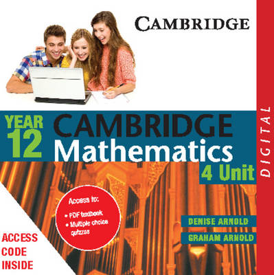 Cambridge 4 Unit Mathematics Year 12 PDF Textbook by Denise Arnold, Graham Arnold