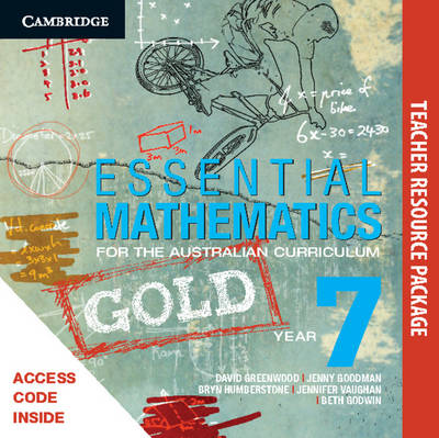 Essential Mathematics Gold for the Australian Curriculum Year 7 Teacher Resource Package by Jenny Goodman, Jenny Vaughan, Sarah Wills
