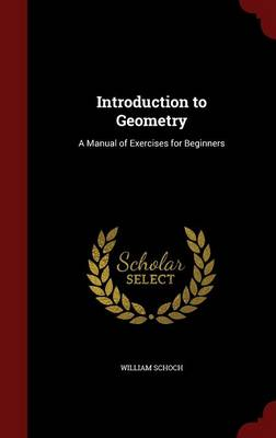 Introduction to Geometry A Manual of Exercises for Beginners by William Schoch