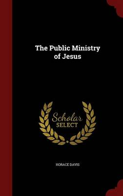 The Public Ministry of Jesus by Horace Davis