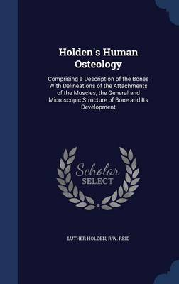 Holden's Human Osteology Comprising a Description of the Bones with Delineations of the Attachments of the Muscles, the General and Microscopic Structure of Bone and Its Development by Luther Holden, R W Reid