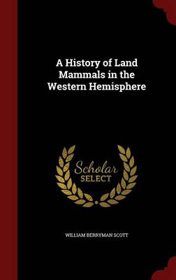 A History of Land Mammals in the Western Hemisphere by William Berryman Scott