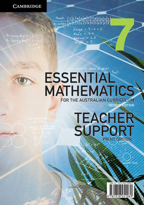 Essential Mathematics for the Australian Curriculum Year 7 2ed Teacher Support Print Option by David Greenwood, Bryn Humberstone, Justin Robinson, Jenny Goodman