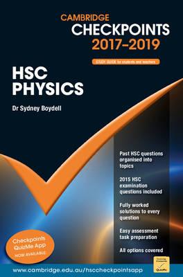 Cambridge Checkpoints HSC Physics 2017-19 by Sydney Boydell