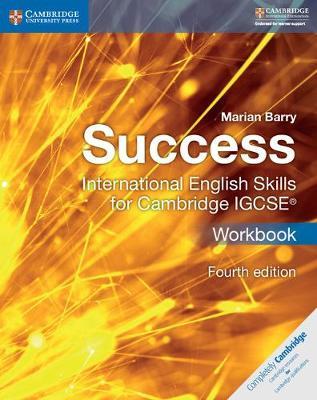 Success International English Skills for Cambridge IGCSE (R) Workbook by Marian Barry