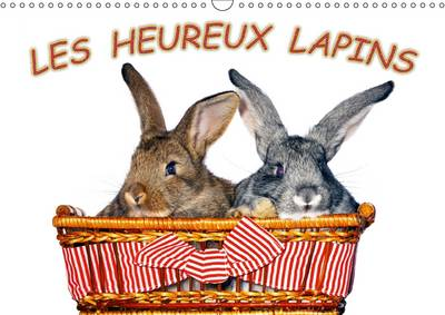 Les Heureux Lapins Des Lapins Devant L'appareil Photo. Nous Les Lapins, Nous Aimons Etre Pris En Photo. by