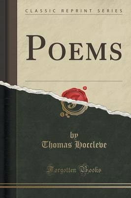 Poems (Classic Reprint) by Thomas Hoccleve