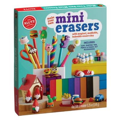 Make Your Own Mini Erasers by Editors of Klutz