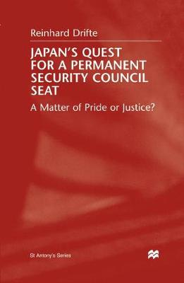 Japan's Quest for a Permanent Security Council Seat A Matter of Pride or Justice? by Na Na