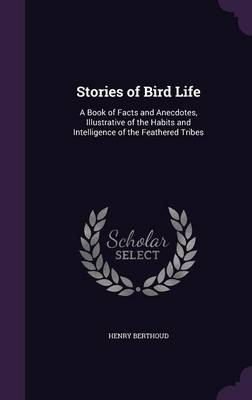 Stories of Bird Life A Book of Facts and Anecdotes, Illustrative of the Habits and Intelligence of the Feathered Tribes by Henry Berthoud