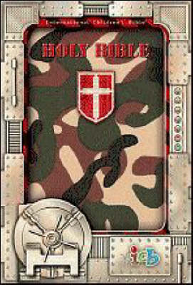 Compact Kids Bible Green Camo by Thomas Nelson