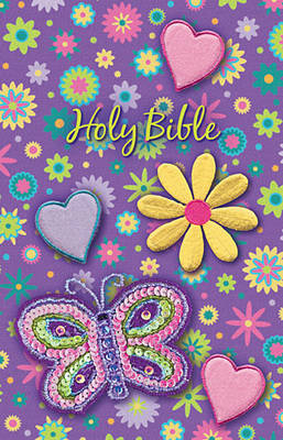 Sequin Bible - Purple by Thomas Nelson