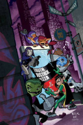Teen Titans Go by Sholly Fisch
