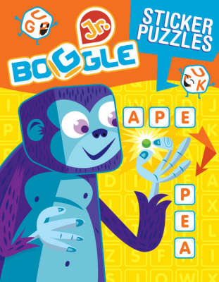 Boggle Jr. Sticker Word Puzzles by Patrick Blindauer