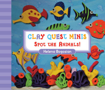 Clay Quest Minis Spot the Animals! by Helena Bogosian