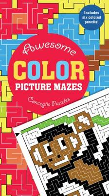 Awesome Color Picture Mazes by Conceptis Puzzles