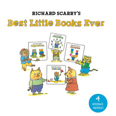 Richard Scarry's Best Little Books Ever by Richard Scarry