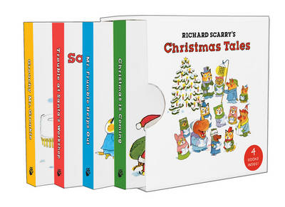 Richard Scarry's Christmas Tales by Richard Scarry