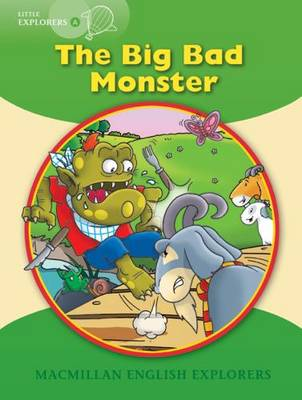 Little Explorers A The Big Bad Monster Big Book by Gill Munton