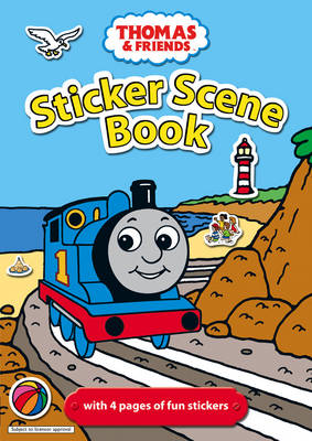 Thomas and Friends Sticker Scene Book by