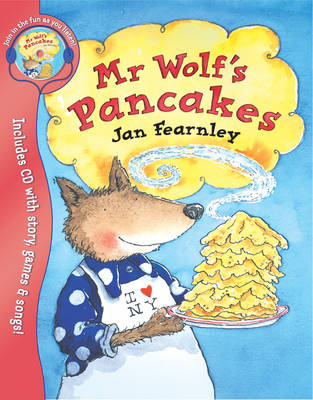 Mr Wolf's Pancakes by Jan Fearnley