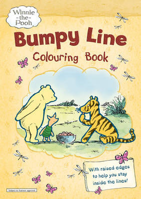 Winnie-the-Pooh Bumpy Line Colouring Book by